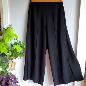OAK + FORT black wide leg palazzo pants, 4